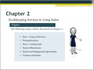 Starting a bookkeeping business Video Chapter 2