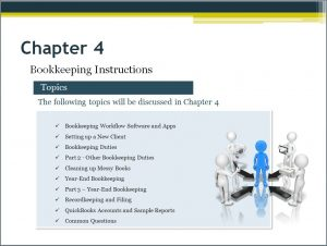 Starting a bookkeeping business Video Chapter 4