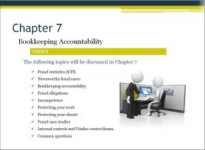Starting a bookkeeping business Video Chapter 7