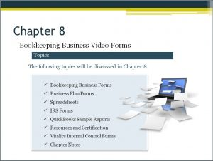 Starting a bookkeeping business Video Chapter 8